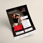 Grafisch ontwerp affiche voor Bij' De Vieze Gasten